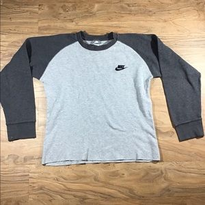 Vintage Nike two tone long sleeve shirt